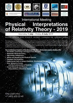 PIRT - Physical Interpretations of Relativity Theory